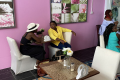 Relaxing at NCF & CMC's EDGE Fashion- The Accelerator's Press Conference
