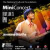 NCF Mini Concert featuring Jermone Waithe