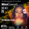 NCF MINI Concert Featuring Kimberley Inniss